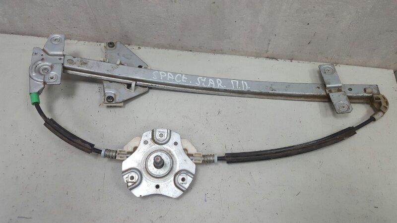 Стеклоподъемник механический Mitsubishi Space Star 4G13 1999 передний левый