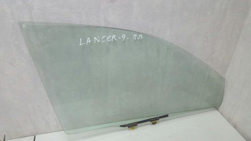 Стекло двери Mitsubishi Lanser 9 CSA 4G18 2003 переднее правое