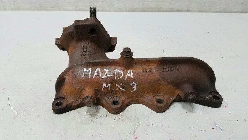 Коллектор выпускной Mazda Mx3 K8 1.8Л