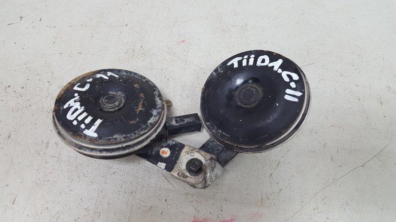 Звуковой сигнал Nissan Tiida C11X HR16DE 2008