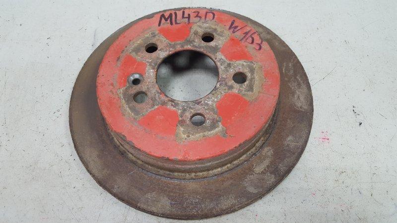 Тормозной диск Mercedes Ml430 W163 M113.942 1999 задний