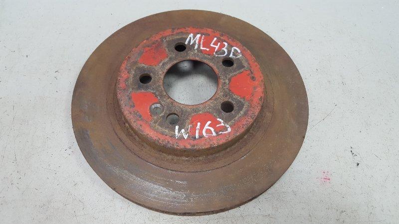 Тормозной диск Mercedes Ml430 W163 M113.942 1999 передний