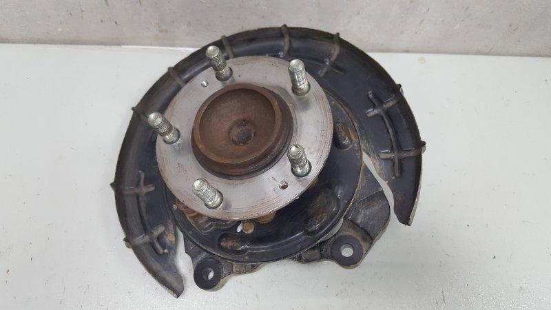 Поворотный кулак Kia Cerato 2 TD G4FC 1.6Л 2010 задний левый