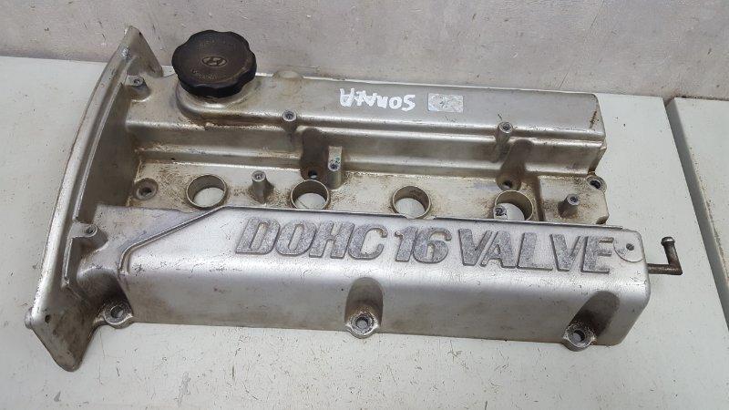 Крышка клапанная головки блока цилиндров гбц Hyundai Sonata 3 EF G4JP 2000