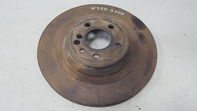 Тормозной диск Mercedes S600 W220 M275.950 2002 задний