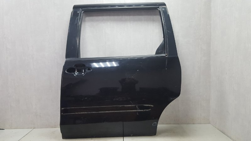 Дверь Mazda Mpv 2 JP FS 2003 задняя левая