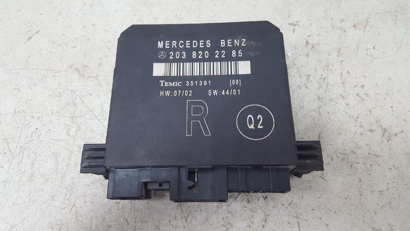 Блок комфорта Mercedes C230 Kompressor W203 M271.948 2003 задний правый