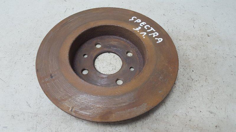 Тормозной диск Kia Spectra FB S6D 2008 задний левый