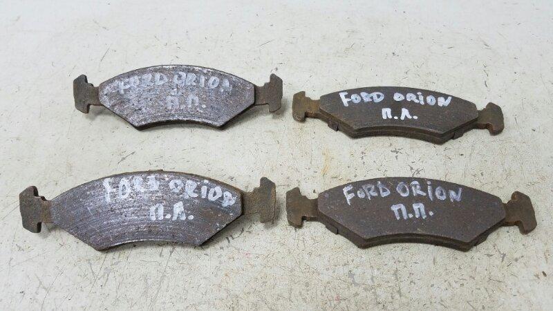 Тормозные колодки Ford Escort 4 1.3Л 1983 переднее