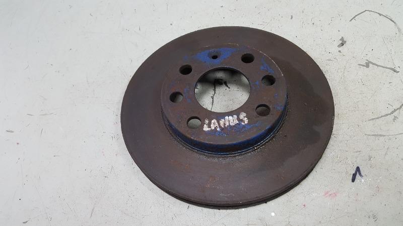 Тормозной диск Chevrolet Lanos T100 A15SMS 2007 передний