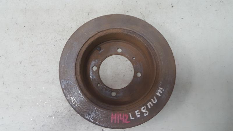 Тормозной диск Mitsubishi Legnum EAW 4G93 1997 задний