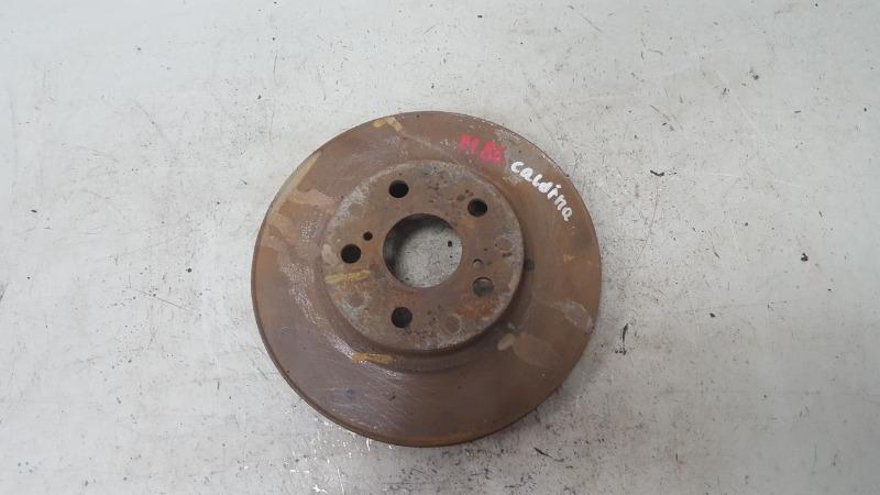Тормозной диск Toyota Caldina T210 3S-FE 2001
