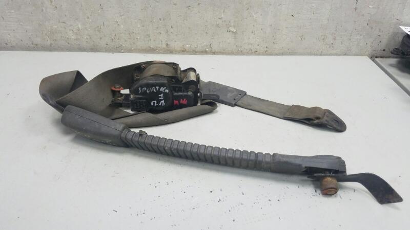 Ремень безопасности Kia Sportage 1 K00 RF 1998 передний левый