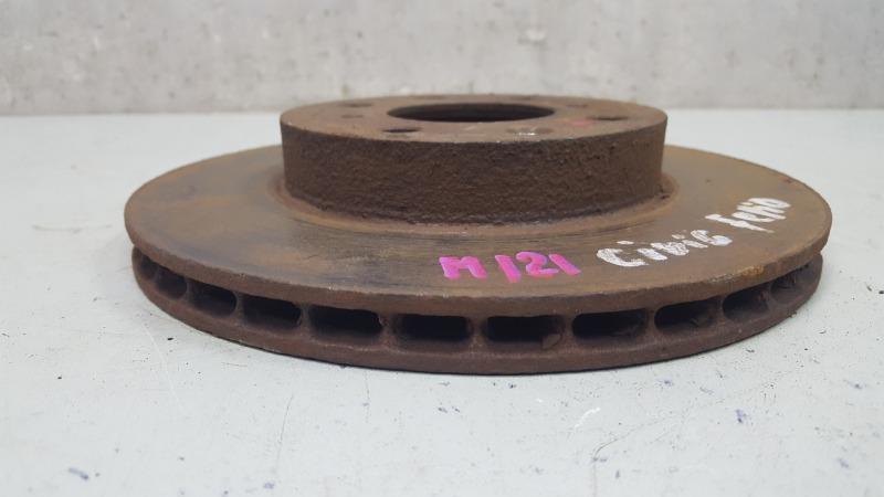 Тормозной диск Honda Civic Ferio EG8 D15B 1.6Л 1992 передний
