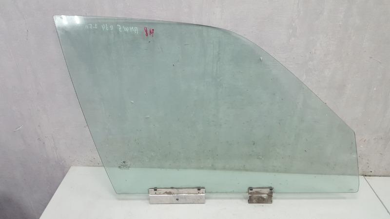 Стекло двери Bmw 525I E34 M20 1988 переднее правое