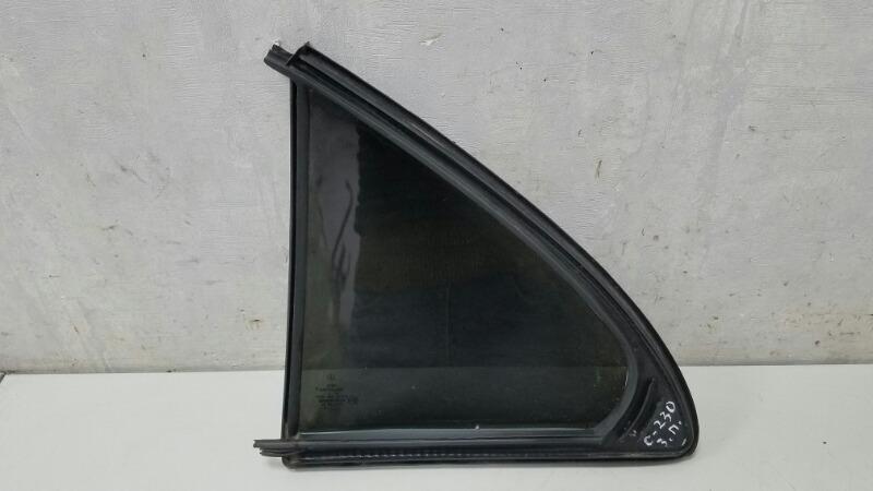 Стекло двери Mercedes C230 Kompressor W203 M271.948 2003 заднее правое
