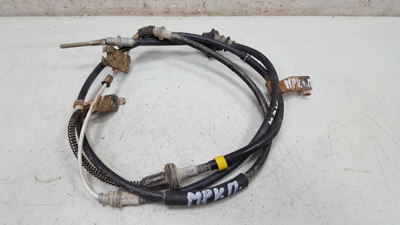 Трос ручного стояночного тормоза ручника Mazda Mpv 2 JP FS 2003