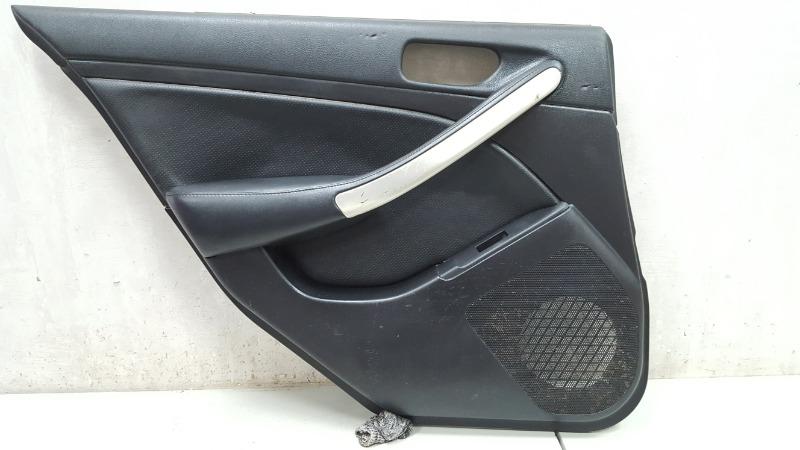 Обшивка карта двери Nissan Skyline V35 VQ25DD 2005 задняя левая
