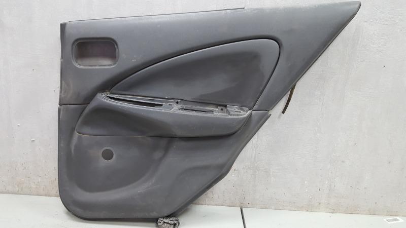 Обшивка карта двери Nissan Almera Classic B10 QG16DE 2008 задняя правая