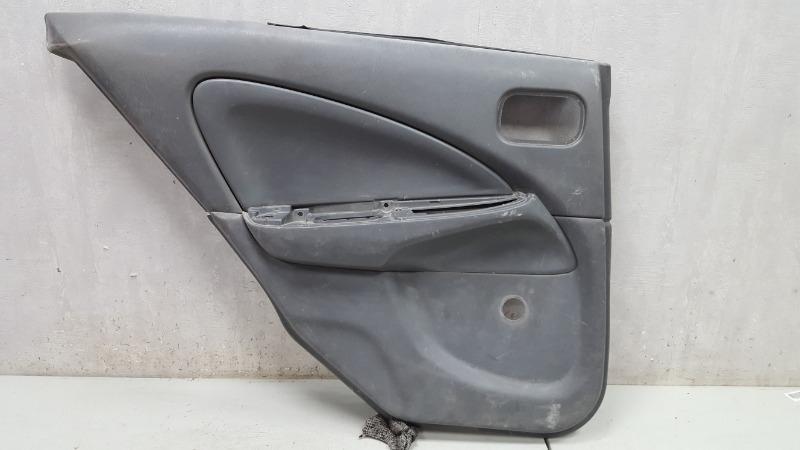 Обшивка карта двери Nissan Almera Classic B10 QG16DE 2008 задняя левая