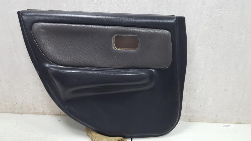 Обшивка карта двери Nissan Skyline R33 RB20E 1998 задняя левая