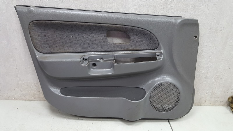 Обшивка карта двери Kia Rio 1 DC A5D 1.5Л 2003 передняя левая