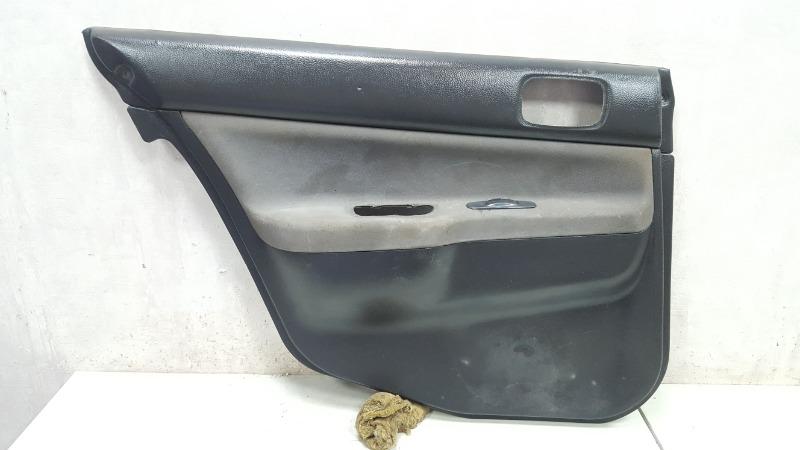 Обшивка карта двери Mitsubishi Lanser 9 CSA 4G18 2003 задняя левая
