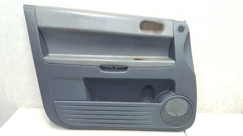 Обшивка карта двери Mitsubishi Colt Z3A 4A90 2006 передняя левая
