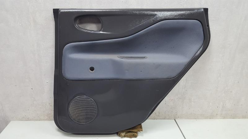 Обшивка карта двери Mitsubishi Space Star 4G13 1999 задняя правая