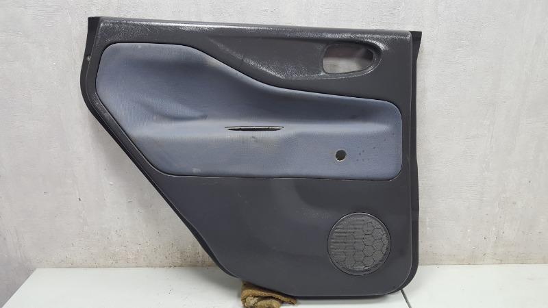 Обшивка карта двери Mitsubishi Space Star 4G13 1999 задняя левая