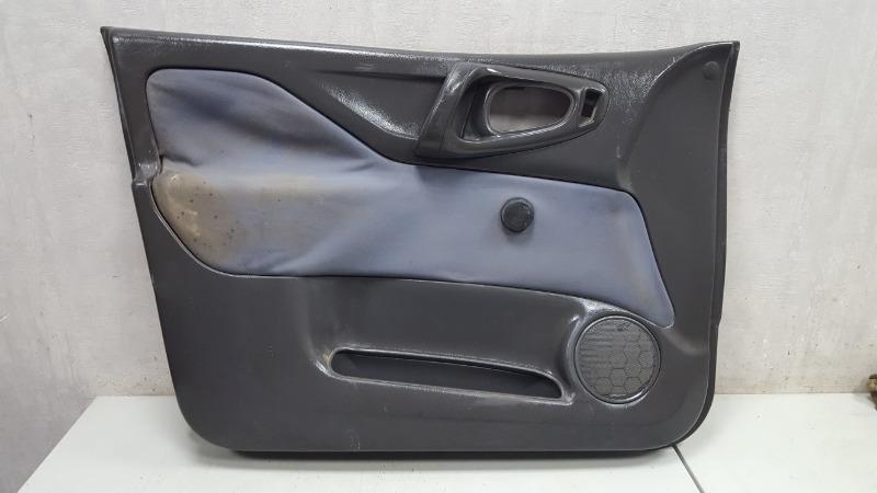 Обшивка карта двери Mitsubishi Space Star 4G13 1999 передняя левая