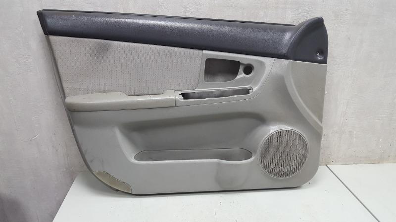 Обшивка карта двери Kia Cerato 1 LD G4FC 2007 передняя левая