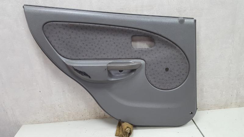 Обшивка карта двери Kia Rio 1 DC A6D 2003 задняя левая