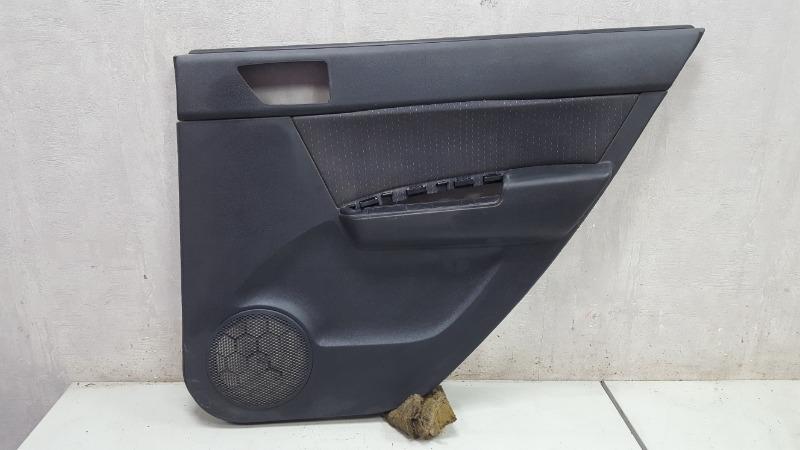 Обшивка карта двери Hyundai Getz TB G4EE 2009 задняя правая