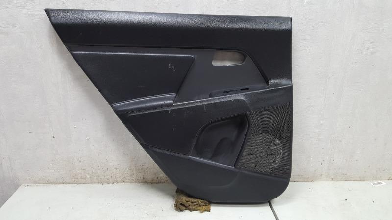 Обшивка карта двери Kia Sportage 3 задняя левая