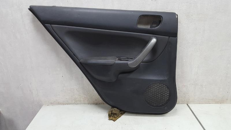 Обшивка карта двери Honda Accord 7 CL7 K20A6 2007 задняя левая