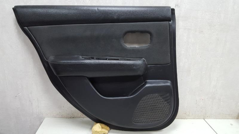 Обшивка карта двери Nissan Tiida C11X HR16DE 2008 задняя левая
