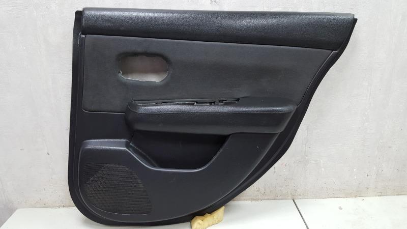 Обшивка карта двери Nissan Tiida C11X HR16DE 2008 задняя правая
