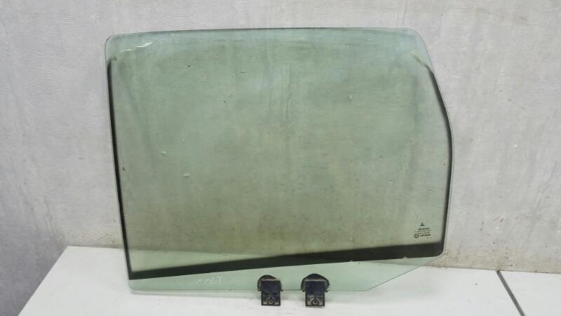 Стекло двери задней Mitsubishi Colt Z3A 4A90 2006 заднее левое