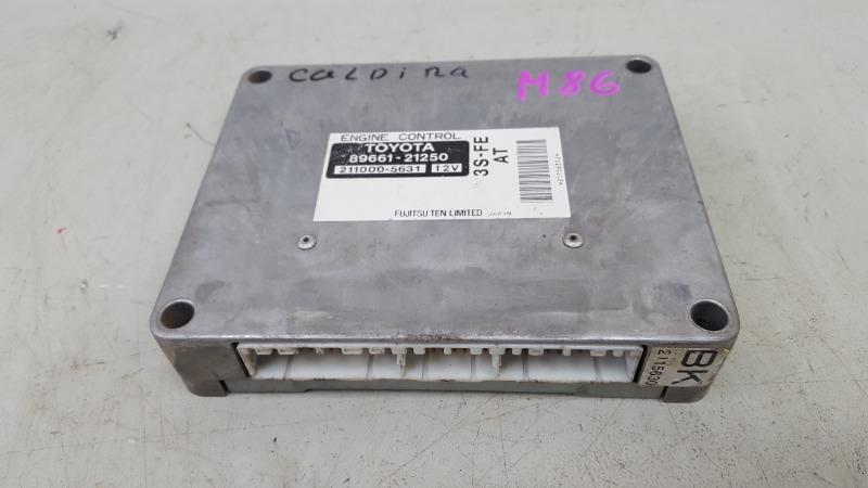 Блок управления двигателем двс эбу Toyota Caldina T210 3S-FE 2001