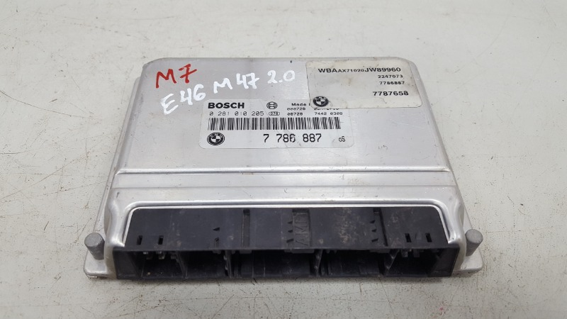 Эбу электронный блок Bmw 320D E46 M47 2000