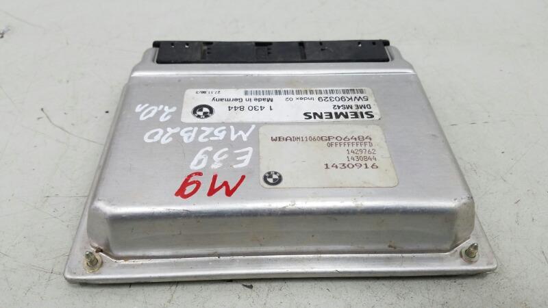 Блок управления двигателем двс эбу Bmw 5 E39 M52 1998