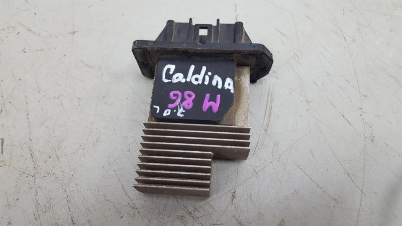 Резистор реостат печки Toyota Caldina T210 3S-FE 2001