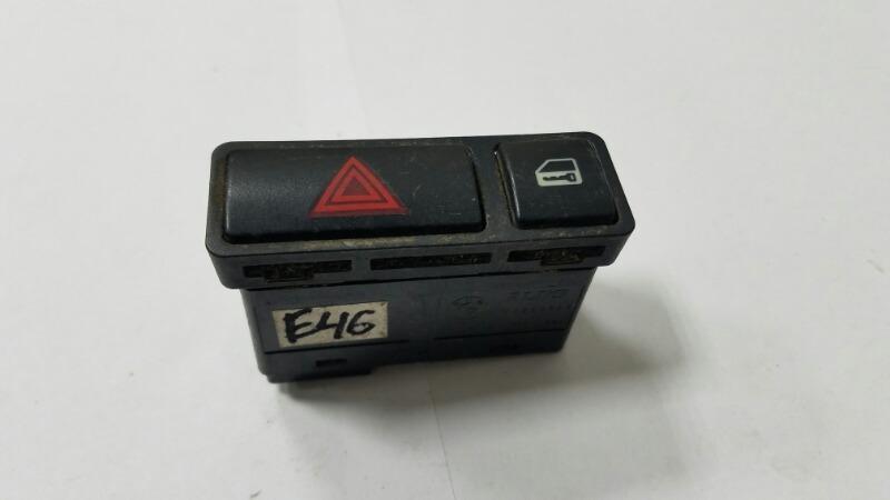 Кнопка аварийного сигнала Bmw 320D E46 M47 2000