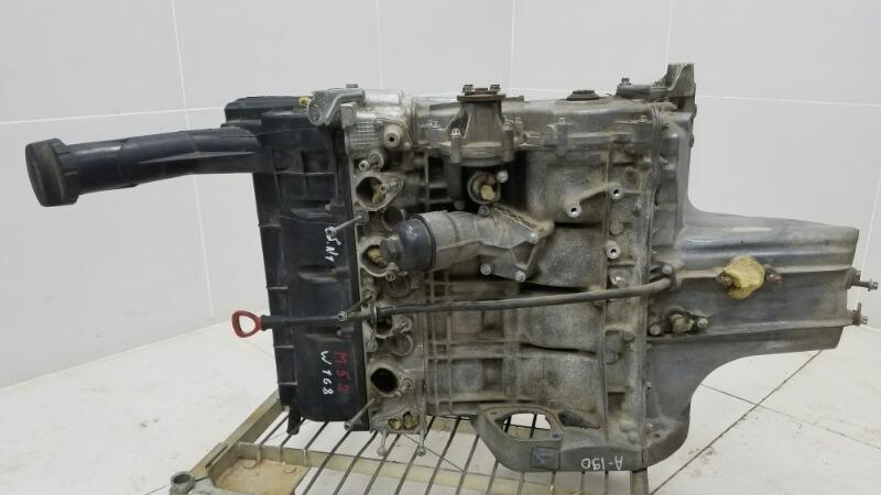 Двигатель двс Mercedes A190 W168 M166.990 2001