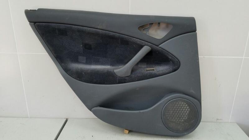 Обшивка карта двери Citroen C5 DC 4HX (DW12TED4/FAP) 2.2Л 2002 задняя левая