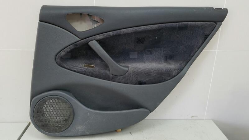 Обшивка карта двери Citroen C5 DC 4HX (DW12TED4/FAP) 2.2Л 2002 задняя правая