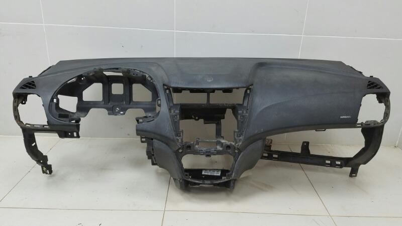 Торпеда (панель) Hyundai Solaris RB G4FC 1.6Л 2012