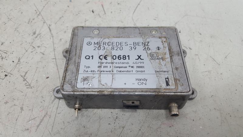 Блок управления телефоном Mercedes C320 W203 M112.946 2000г