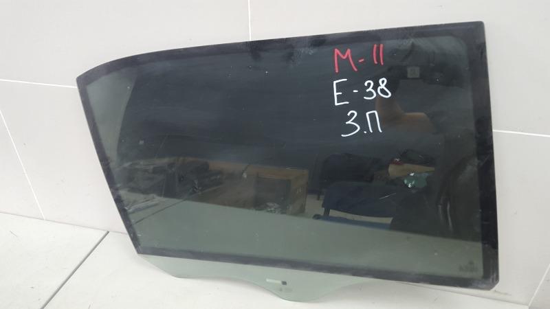 Стекло двери Bmw 750 I Il E38 M73 1997 заднее правое